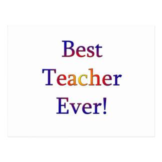Cartão Postal O melhor professor nunca