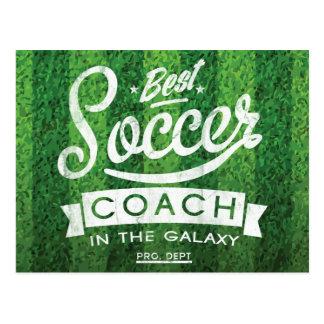 Cartão Postal O melhor treinador do futebol na galáxia