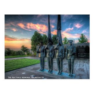 Cartão Postal O memorial da força aérea