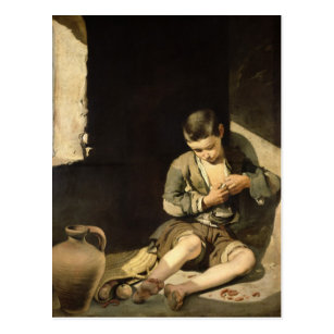 Cartão Postal O mendigo novo, c.1650