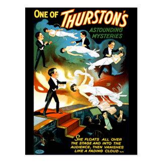 Cartão Postal O mistério surpreendente de Thurston!