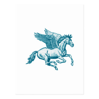 Cartão Postal O mito grego