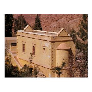 Cartão Postal O monastério de Catherine do santo