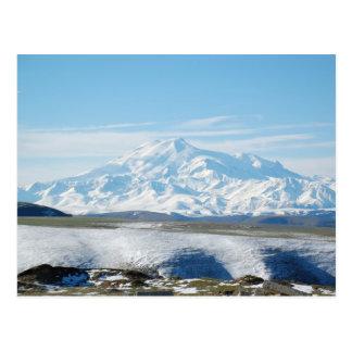 Cartão Postal O Monte Elbrus