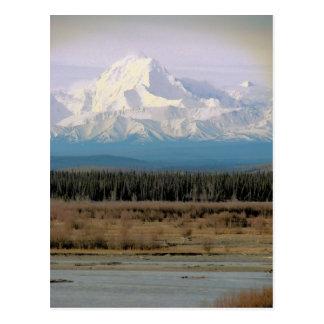Cartão Postal O Monte McKinley