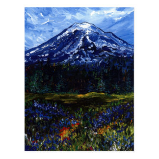 Cartão Postal O Monte Rainier