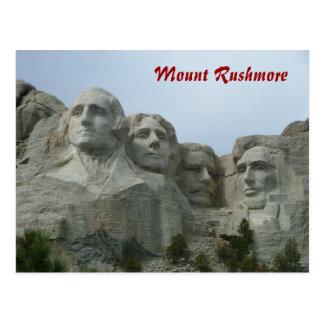 Cartão Postal O Monte Rushmore
