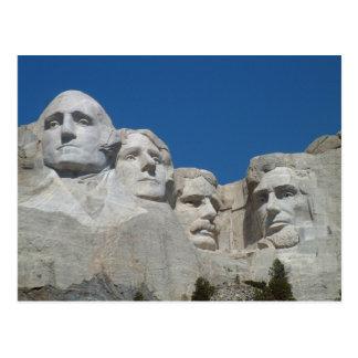 Cartão Postal O Monte Rushmore Poscard