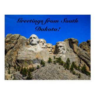 Cartão Postal O Monte Rushmore, South Dakota