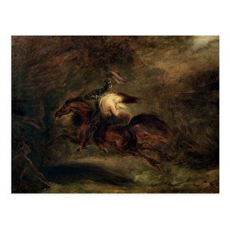 Cartão Postal O morto vai rapidamente, 1830