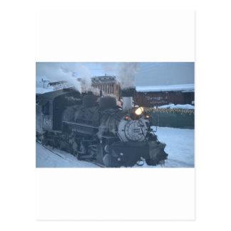 Cartão Postal O motor expresso polar