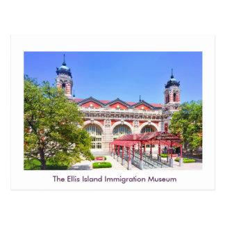 Cartão Postal O museu da imigração do Ellis Island