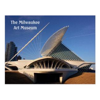 Cartão Postal O museu de arte de Milwaukee