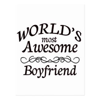 Cartão Postal O namorado o mais impressionante do mundo