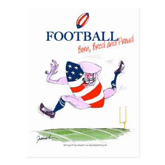 Cartão Postal O nascer do futebol produziu fernandes orgulhosos,