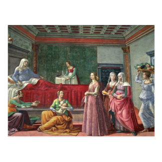 Cartão Postal O nascimento de St John o baptista (fresco) (veja