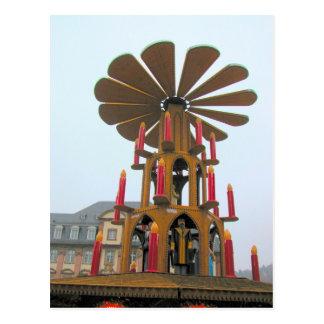 Cartão Postal O Natal alemão, gigante fez sob medida