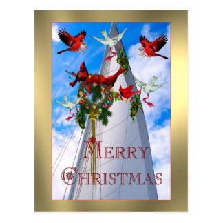 Cartão Postal O Natal do marinheiro