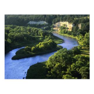 Cartão Postal O Niobrara River perto dos namorados Nebraska