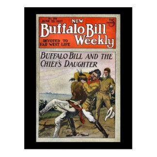 Cartão Postal O no. semanal novo 250 1917 de Buffalo Bill