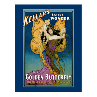 Cartão Postal O ~ o mais atrasado da maravilha de Kellar a