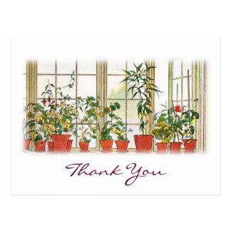 Cartão Postal O obrigado de Carl Larsson você