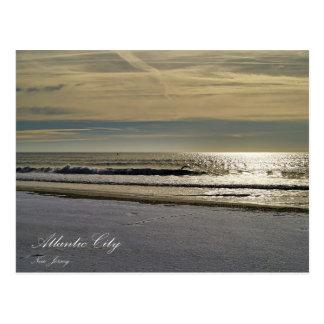Cartão Postal O oceano de Atlantic City