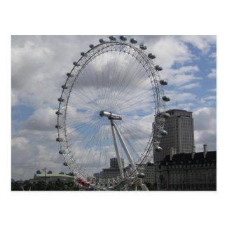 Cartão Postal O olho de Londres
