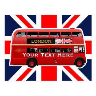 Cartão Postal O ônibus de Londres
