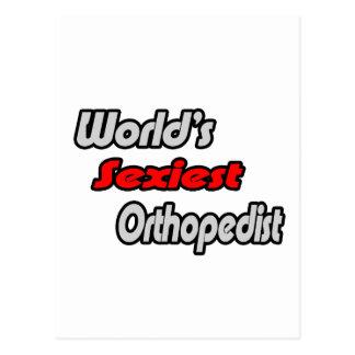 """Cartão Postal O Orthopedist o mais """"sexy"""" do mundo"""