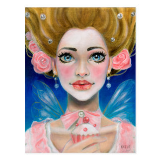 Cartão Postal O ouro de Marie Antoinette deixou-os comer o