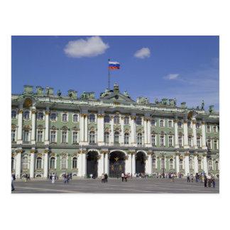 Cartão Postal O palácio do inverno, St Petersburg, Rússia (RF)