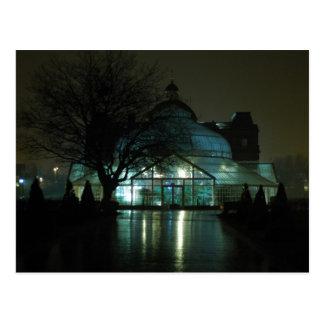 Cartão Postal O palácio do pessoa na noite