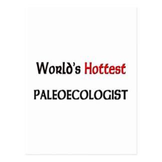 Cartão Postal O Paleoecologist o mais quente dos mundos