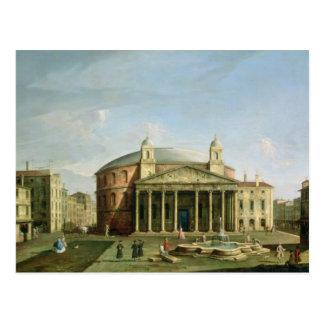 Cartão Postal O panteão em Roma
