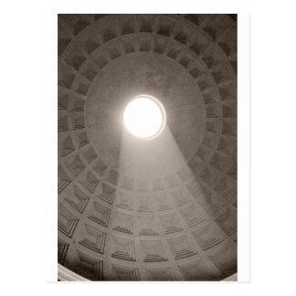 Cartão Postal O panteão, Roma