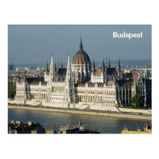 Cartão Postal O parlamento de Hungria