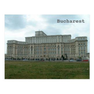 Cartão Postal O parlamento romeno