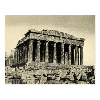 Cartão Postal O Partenon