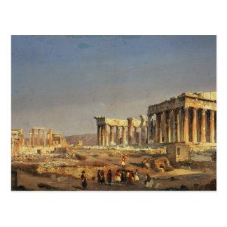 Cartão Postal O Partenon, 1863