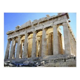 Cartão Postal O Partenon na acrópole