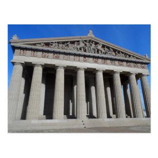 Cartão Postal O Partenon, Nashville