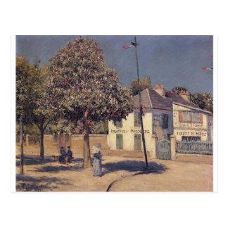 Cartão Postal O passeio em Argenteuil por Gustave Caillebotte