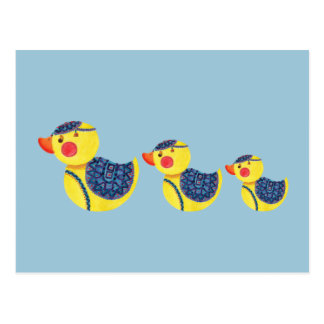 Cartão Postal O pato Ducky