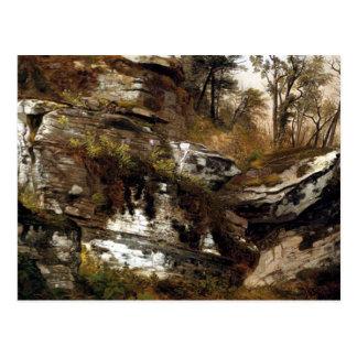 Cartão Postal O penhasco rochoso de Catskills - Durand