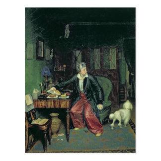 Cartão Postal O pequeno almoço do aristocrata, 1849-50
