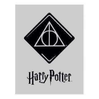 Cartão Postal O período | de Harry Potter Deathly Hallows o