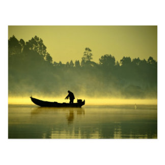 Cartão Postal O pescador