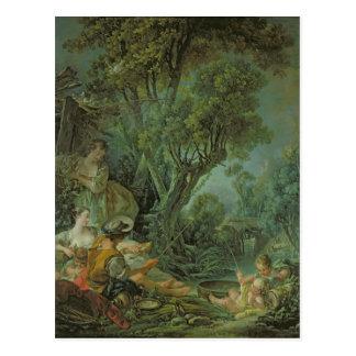 Cartão Postal O pescador, 1759