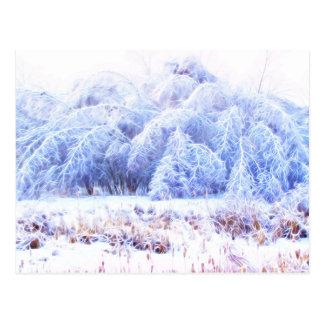 Cartão Postal O peso do Gelo-lumi